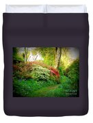 Gardens Of The Old Rectory Duvet Cover