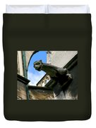 Gargoyle Of Saint Denis Duvet Cover