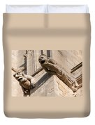 Gargoyles On Ely Cathedral Duvet Cover