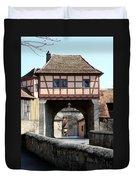 Gate House - Rothenburg Duvet Cover