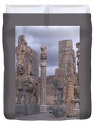Gate Of Xerxes Duvet Cover