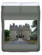 Gate To Chateau De La Bretesche Duvet Cover