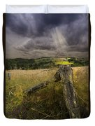 Gate To Heaven Duvet Cover