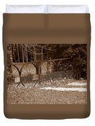 Gate To The Past Duvet Cover