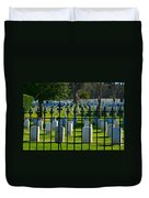Gated Community Duvet Cover