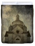 Gates Of Confessions Duvet Cover