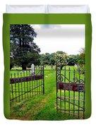 Gates Of Heaven Duvet Cover