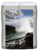 Gateway To Beauty Duvet Cover