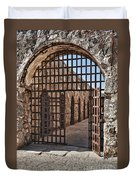 Gateway To The Unknown Duvet Cover by Sandra Bronstein