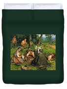 Gaul: Nearing The End Duvet Cover