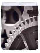 Gears Number 3 Duvet Cover