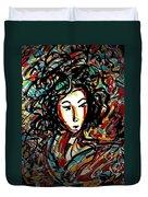 Geisha 7 Duvet Cover