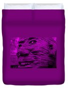 Gentle Giant In Purple Duvet Cover