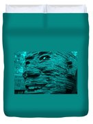 Gentle Giant In Turquois Duvet Cover