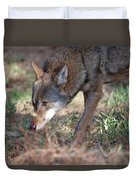 Gentle Wolf Duvet Cover