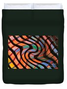 Geometrical Colors And Shapes 2 Duvet Cover