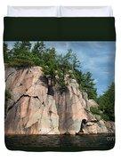 George Lake Duvet Cover