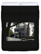 George Peers House Appomattox Virginia Duvet Cover