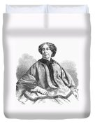 George Sand, French Author And Feminist Duvet Cover