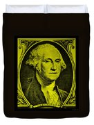 George Washington In Yellow Duvet Cover