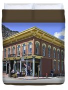 Georgetown Colorado On Canvas Duvet Cover
