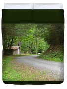 Georgia Mountain Road Duvet Cover