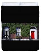 Georgian Doors, Fitzwilliam Square Duvet Cover
