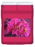 Geranium Pop Duvet Cover