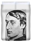 Gerard Manley Hopkins Duvet Cover by Science Source