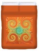 Gerbera Abstract Duvet Cover