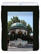 German Fountain - Istanbul Duvet Cover