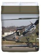 German Tiger Eurocopter At Fritzlar Duvet Cover
