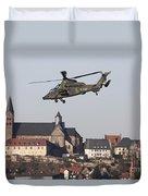 German Tiger Eurocopter Flying Duvet Cover