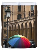 German Umbrella Duvet Cover