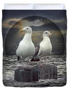 Gertrude And Heathcliff Duvet Cover