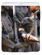 Gettysburg Monument Duvet Cover