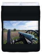 Gettysburg Vintage Cannon Duvet Cover