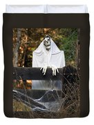 Ghost At The Gate Duvet Cover