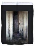 Ghost Girl In Hall Duvet Cover by Jill Battaglia