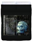 Ghost Skull Duvet Cover