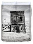 Ghost Town Remains Duvet Cover