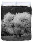 Ghost Tree Duvet Cover
