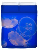 Ghostly Jellyfish Duvet Cover