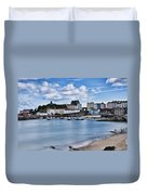 Ghosts On The Beach Duvet Cover