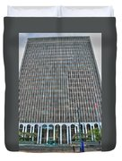Giant Bank Of M And T Duvet Cover