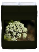 Giant Buckwheat Flower Duvet Cover