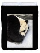 Giant Panda Portrait Duvet Cover