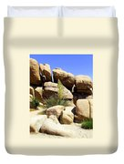 Giant Rocks Duvet Cover