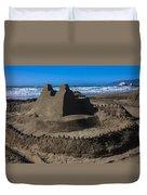 Giant Sand Castle Duvet Cover
