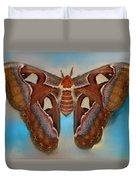 Giant Silk Moth Duvet Cover